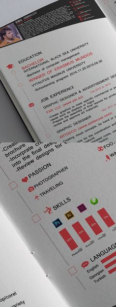 Free Print Ready InDesign Resume Template #coverletter - free cv resume templates