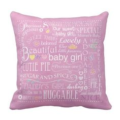 Child Woman Typography Pillow. >> Discover even more by clicking the photo link