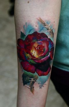 Татуировка роза / tattoo rose