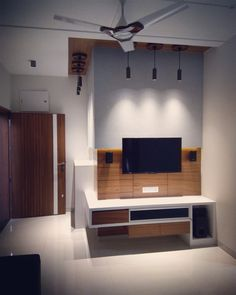 Tv Unit Furniture Design, Tv Unit Design, Wardrobe Door Designs, Wardrobe Doors, Home Interior Design, Interior And Exterior, Modern Tv Wall Units, House Elevation, Tv Units