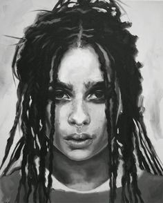 Zoë Kravitz Fine Art Print (Mad Max - Fury Road - Divergent Series - Allegiant - Toast the Knowing - Lolawolf - X-Men First Class - Icons)