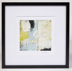 Excited to share the latest addition to my #etsy shop: Original Abstract Encaustic on Paper #painting #interiordesign #homedecor #contemporaryart