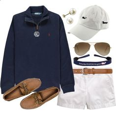 Untitled #54 by omq-quinn on Polyvore featuring Sperry Top-Sider, Vineyard Vines, Ray-Ban, Dorothy Perkins and Polo Ralph Lauren