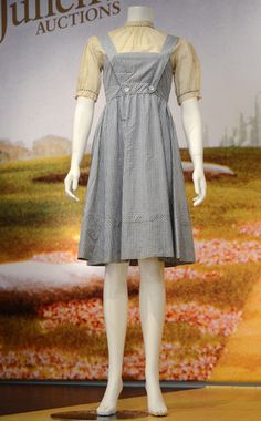 Wizard of Oz's Dorothy Dress Auctioned for $480,000   Dorothy Dress, Wizard of Oz