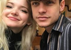 11 Sexy Celebrities that Dove Cameron Has Admitted She's Crushing On i. Zac Efron, Thomas Doherty, Kat McNamara, etc. Cute Celebrity Couples, Cute Couples, Dove And Thomas, Elementary Science Classroom, Boyfriend Goals Teenagers, Thomas Doherty, Sofia Carson, The Fam, Dove Cameron