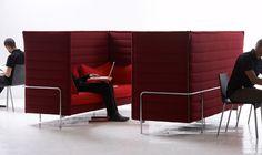 Vitra Alcove Highback Sofa,vitra.com: Cubicle option. #Sofa #Vitra #Cubicle
