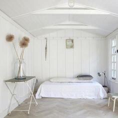 light, minimal bedroom from Remodelista