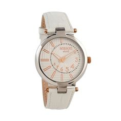 White Leather, Chronograph, Seasons, Watches, Accessories, Wristwatches, Seasons Of The Year, Clocks, Jewelry Accessories