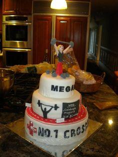 Crossfit Cake I made for my cousin's Birthday! Crossfit Cake, Crossfit Box, 40th Birthday Parties, Happy Birthday, Birthday Cake, Cupcake Cakes, Cupcakes, Cake Decorating, Birthdays