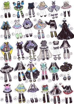 SOLD- OutfitShop by Guppie-Adopts