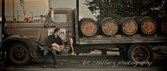 Whiskey Truck- Engagement Session...Kit Chalberg Photography
