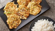 No need to get Chinese takeout with this easy homemade Egg Foo Young recipe. This recipe yields about eight pancakes, and it's easy to double or triple the batch if needed.