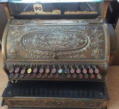 Vintage National Cash Register Dayton Ohio USA by OnlineAntiquesuk