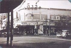 Bangkok's King Theatre [and street life] as it appears in 1956