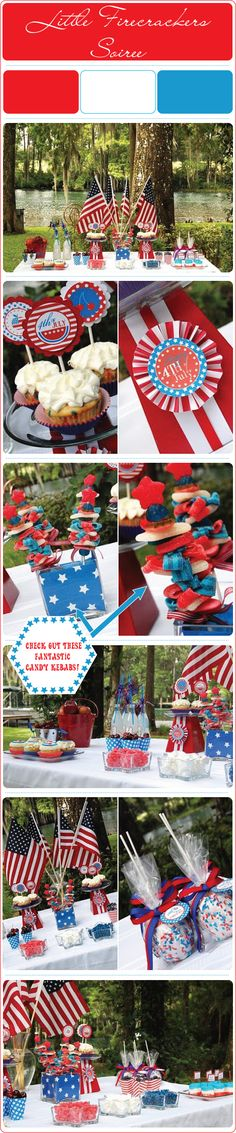 Little-Firecrackers-Party.  Lots of great tabletop decor and food ideas.