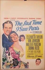 The-LAST-TIME-I-SAW-PARIS-1954-window-card-movie-poster-ELIZABETH-TAYLOR