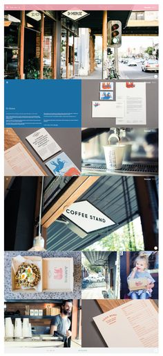 Website design | Project page portfolio ideas | http://www.seesawstudio.com.au/work/dr-morse/