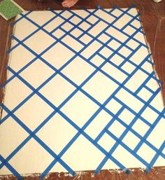 Great Idea for Creating Your Own Geometric-Modern Art #artpainting