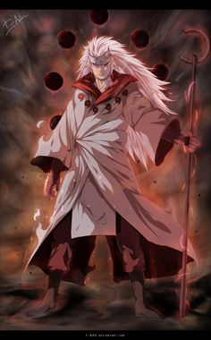 Naruto 663 - Madara Juubi mode by i-azu.deviantart.com on @deviantART