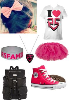 """R5 concert"" by courtneycarson3 ❤ liked on Polyvore"