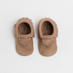 Freshly Picked baby moccs | Weathered Brown