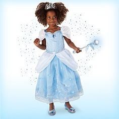 Cinderella Interactive Deluxe Costume Set for Kids | Disney Store Who needs a…