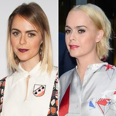 New Hair 2015: See Celebrity Hair Makeovers   InStyle.com A far cry from the brunette she sports as Pennsatucky on Orange Is the New Black, Taryn Manning took her ombre lob to a platinum hue and shorter length at the end of June.
