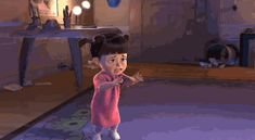 Monsters Inc Boo - - Yahoo Video Search Results Monsters Inc Movie, Agnes Despicable Me, Monsters Inc University, The Incredibles 2004, Toy Story 1995, Disney Pixar Movies, Romantic Gif, The Worst Witch, Vanellope