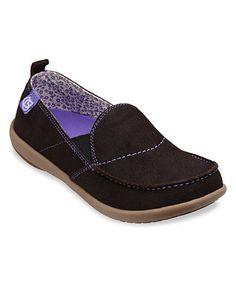 Love this Dark Brown Siesta Suede Slip-On Sneaker - Women on #zulily…