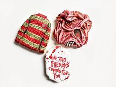 Horror Movies, Sugar Cookies, Winter Hats, Sweater, Halloween, Instagram, Horror Films, Jumper, Sweaters