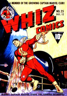 Whiz Comics #25 first appearance of Captain Marvel Jr