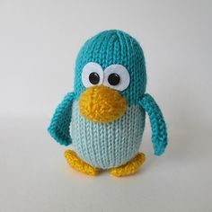 KEVIN THE PENGUIN TOY KNITTING PATTERNS