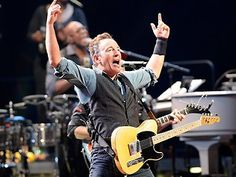 Bruce Springsteen Hanging Rock, Vic, Australia 30th march 2013