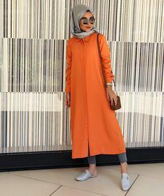 Modest Fashion Hijab, Casual Hijab Outfit, Hijab Chic, Abaya Fashion, Islamic Fashion, Muslim Fashion, Fashion Cover, Work Fashion, Conservative Outfits