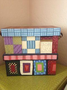 Shara Reiner designed boxes.