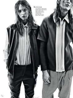 MAJA STRIEM AND ERIK ANDERSSON BY ANDREAS SJODIN FOR ELLE SWEDEN MAY 2013 VIA VISUAL OPTIMISM