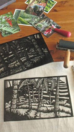 Make linocuts in beautiful Ubud Bali, If this sounds like fun to you see website for details places are limited you could join the Lino-cut retreat in Bali January 2015