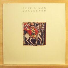 PAUL SIMON - Graceland  mint minus Vinyl LP Boy in the Bubble You can call me Al
