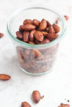 Roasted Smoky Almonds [Bake Your Day]