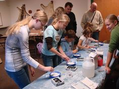 Jr. Wolf Biologist Mini-Camps are a great two-day experience for 7-14 year olds!