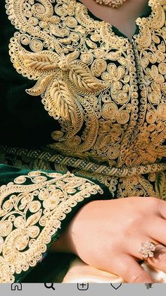 Gold Lace, Hand Henna, Kaftan, Hand Tattoos, Saints, Models, Embroidery, Nice, Dresses