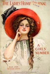 Harrison Fisher 1909 ~ Ladies Home Journal Cover