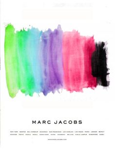 colors and marc Jacobs.