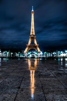 I would like to go to Paris and see the Eiffel Tower, and see if my two years of learning French did me any good, have breakfast in Paris, and go shopping!