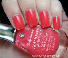 Holly and Polish: Sally Hansen Diamond Strength Something New
