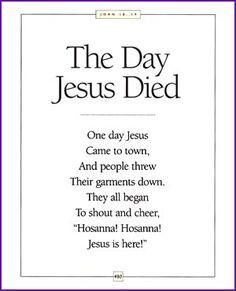 Religious Easter Poems 6