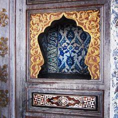 Topkapi Palace wall niche