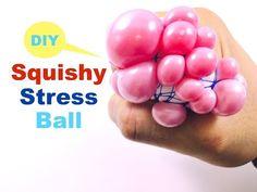 Slushy Squishy Stretchy Ball! DIY Orbeez Crush Stress Ball - YouTube