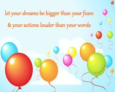 dreams and actions