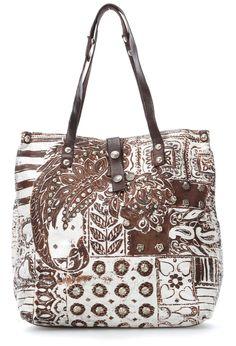 Ano, to jsou úžasné tašky  - Campomaggi LAMINATI Tote bílá 32cm - C3371FLAVL-3133 - značkové tašky Shop - wardow.com